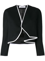 Chalayan Side Drape Bolero Black