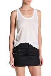 Zadig And Voltaire Deep Burn Tank White