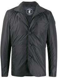 Save The Duck Padded Shirt Jacket Black
