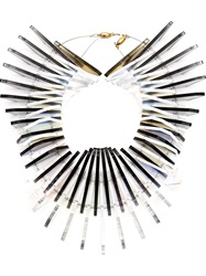 Sarah Angold Studio 'Dragon Duplice' Necklace White