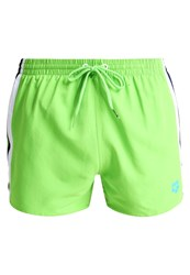 Arena Fundamentals Swimming Shorts Leaf White Navy Green