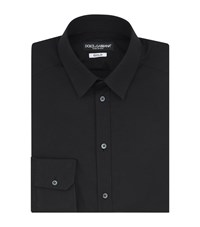 Dolce And Gabbana Poplin Gold Fit Shirt Male