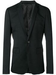 Les Hommes Embellished Formal Blazer Black