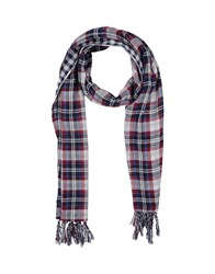 Armani Jeans Accessories Oblong Scarves Women Maroon