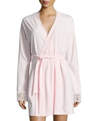 Cosabella Sonia Jersey Lounge Robe Pink Lilly