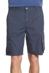 John Varvatos Cotton Cargo Shorts Blue