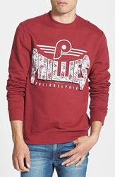 Mitchell And Ness 'Philadelphia Phillies' Crewneck Sweatshirt Red
