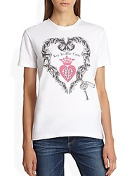 Emilio Pucci Key To The Cure Tee White