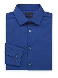 Theory Dover Cotton Slim Fit Dress Shirt Vallient