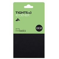 John Lewis 40 Denier Opaque Tights Pack Of 3 Charcoal