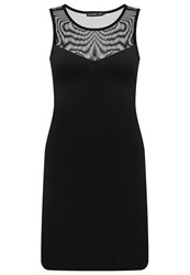 Evenandodd Shift Dress Black