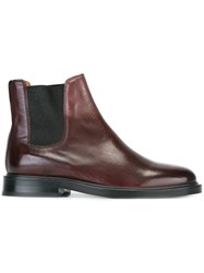 Paul Smith Chelsea Boots Pink And Purple