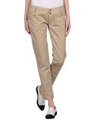 Pf Paola Frani Trousers Casual Trousers Women Beige