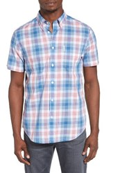 Ben Sherman Men's Mod Fit Plaid Woven Shirt