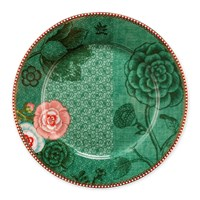 Pip Studio Spring To Life Plate Green Large