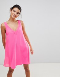 Ted Baker Cover Up With Mesh Panel Pink