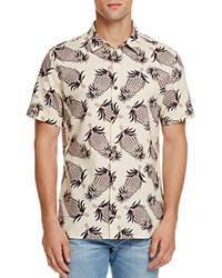 Insight Pinepple Slim Fit Button Down Shirt 100 Bloomingdale's Exclusive Oatmeal