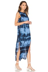 Young Fabulous And Broke Amara Dress Blue