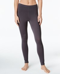 Ideology Base Layer Leggings Only At Macy's Deep Charcoal