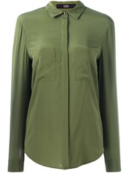 Steffen Schraut Patch Pocket Shirt Green