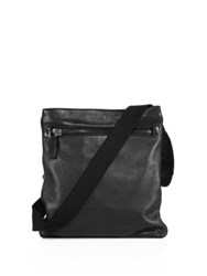 Cnc Costume National Pebbled Calf Leather Satchel Black