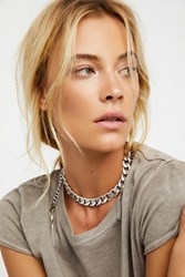 Free People Womens Revival Chain Collar