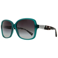 Ralph Ra5165 Square Sunglasses Green Black