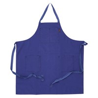 French Utility Apron Blue