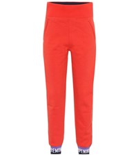 Opening Ceremony Cotton Sweatpants Red