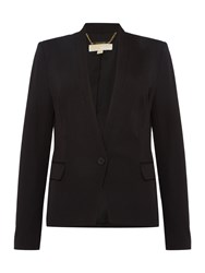 Michael Kors V Neck Blazer Black