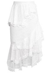 Sister Jane Tenderfoot Aline Skirt Ivory White