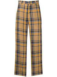 M Missoni High Waisted Tartan Trousers 60