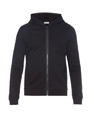 Balenciaga Patch Pocket Zip Up Sweatshirt