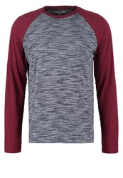Your Turn Long Sleeved Top Blue Bordeaux