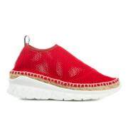 Kenzo Women's K Lastic Hybrid Sports Espadrilles Vermillion Red