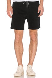 Scotch And Soda Chino Short With Elastic Waistband Black