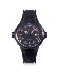 Lancaster Men's Watches Space Shuttle Automatic Stainless Steel And Silicon Men's Watch