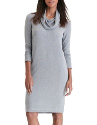 Lauren Ralph Lauren Vencia Cowlneck Dress Everest Heather