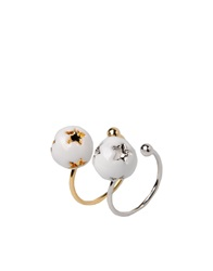 Nadine S Rings White
