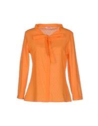 Blugirl Folies Shirts Shirts Women Orange