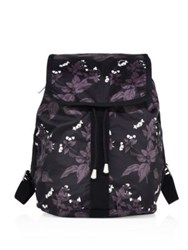 Le Sport Sac Shopper Botanical Nylon Backpack