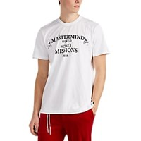 Mastermind Japan Missions Cotton Oversized T Shirt White