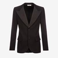 Bally Men's Wool Crepe Blazer Jacket In Black