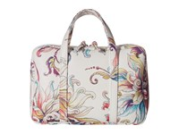 Elliott Lucca Travel Case White Wildflower Handbags Multi