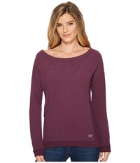 Arc'teryx Mini Bird Sweatshirt Mandala Heather Brown