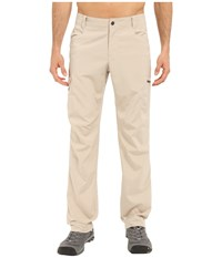 Columbia Silver Ridge Stretch Pants Fossil Men's Casual Pants Beige
