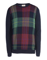 Edward Spiers Knitwear Jumpers Men Dark Blue