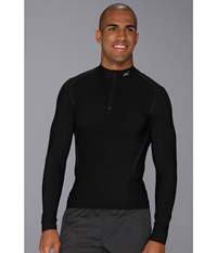 Cw X Insulator Web Top Black Men's Long Sleeve Pullover