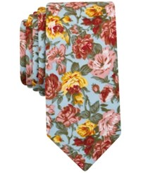 Bar Iii Men's Blossom Floral Tie Only At Macy's Blue