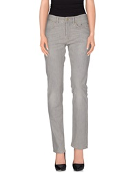 Siviglia Denim Denim Pants Grey